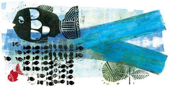 Illustration By: Farshid Mesghali