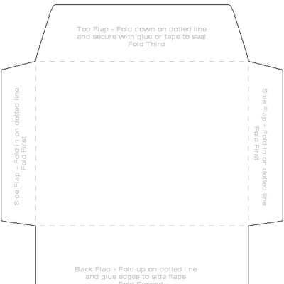 6 x 8 envelope template - printable 4 x 6 envelope template printables downloads