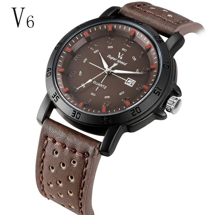 $9.79 (Buy here: https://alitems.com/g/1e8d114494ebda23ff8b16525dc3e8/?i=5&ulp=https%3A%2F%2Fwww.aliexpress.com%2Fitem%2Ferkek-kol-saatleri-spor-V6-Luxury-Brand-Military-Watch-Men-Quartz-Analog-Clock-Leather-Strap-Clock%2F32657743658.html ) erkek kol saatleri spor V6 Luxury Brand Military Watch Men Quartz Analog Clock Leather Strap Clock Man Sports calendar Watches for just $9.79