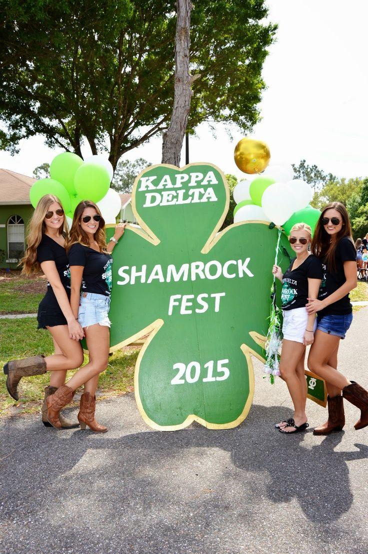 Kappa Delta Shamrock Fest!