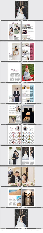 Créer gratuitement un journal de mariage en ligne et l'imprimer à petit prix en cliquant sur https://fr.magglance.com/journal-de-mariage/creer-un-journal-de-mariage #journal#magazine#magazine de mariage#modèle#design#échantillon#exemple#Template#façonner#créer#cadeau de mariage#mise en page#idée
