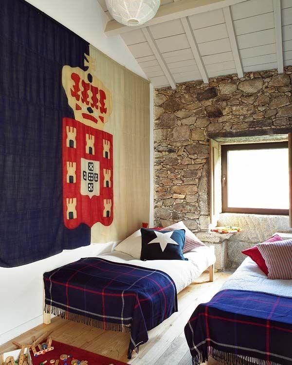 Uma casa de campo encantadora em Portugal.