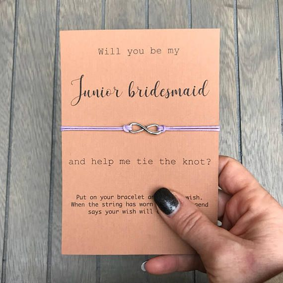 Junior Bridesmaid, Junior Bridesmaid Proposal, Jr