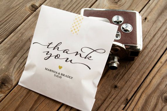 No Thank You For Wedding Gift: 1000+ Ideas About Wedding Favor Bags On Pinterest
