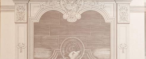 A creative trompe l'oeil effect at Wrightson & Platt.