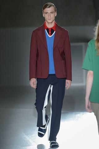 Prada  Verão 2013 pegada sportswear