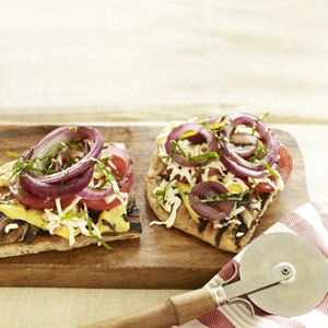 Grilled Veggie Pizza #grilling