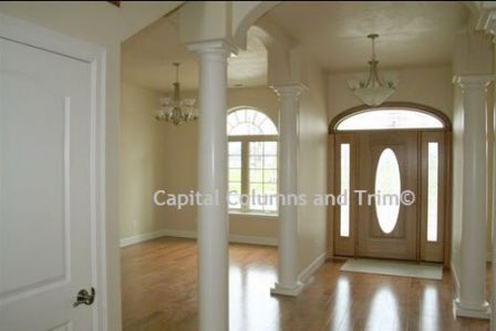 7 Best Images About Decorative Interior Wood Columns On