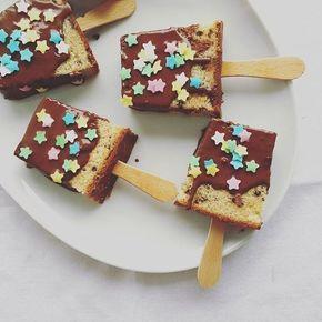 Kuchen am Stiel, Kuchenbuffet, Kuchen auf die Hand, Kindergeburtstag