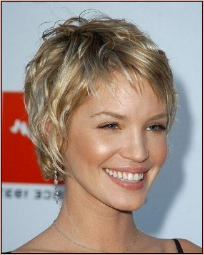 Image result for short haircuts for women over 50 with thin hair ...
