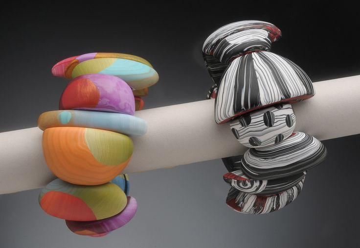 big bead bracelets - Bonnie Bishoff