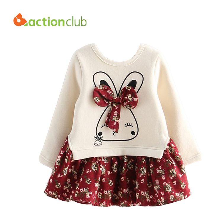Moda las chicas estilo coreano vestido Floral para las niñas 2015 primavera / otoño ropa niños ropa niños florales KS436 en Vestidos de Bebés en AliExpress.com | Alibaba Group