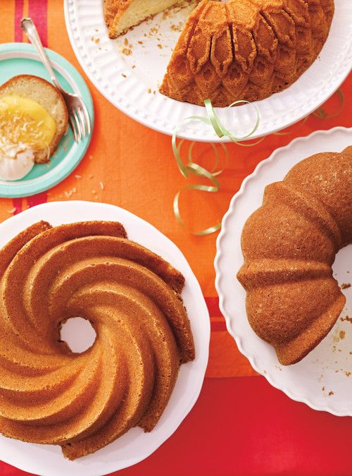 Gâteau Bundt doré
