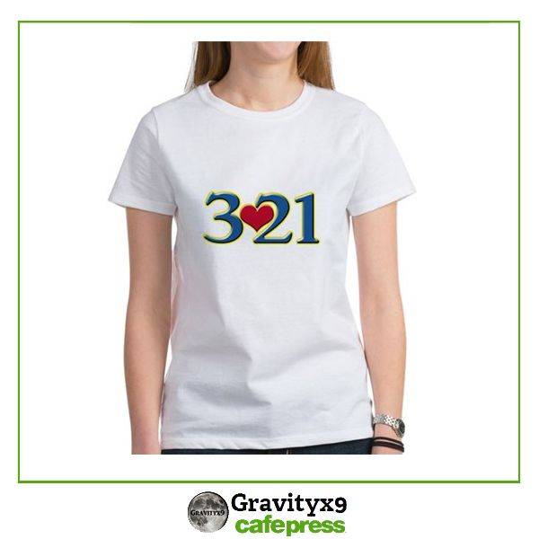 3♥21 ~   Down Syndrome Awareness Day ~  Awareness Tee Shirts available in several styles, colors and sizes.  #DownSyndromeAwareness #DownSyndromeDay  #Cafepress #Gravityx9 Designs