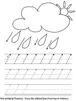 These worksheets are great at the beginning of the year in Kindergarten!