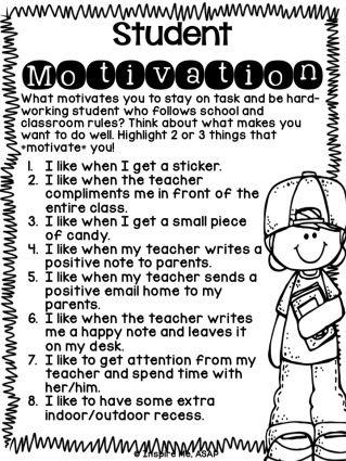 Student Motivation - Inspire Me ASAP
