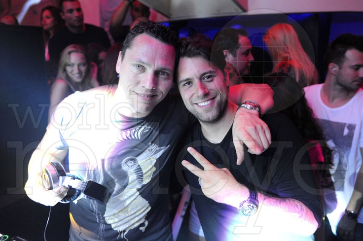 Tiesto & Sebastian Ingrosso at LIV, at Fontainebleau Miami Beach.