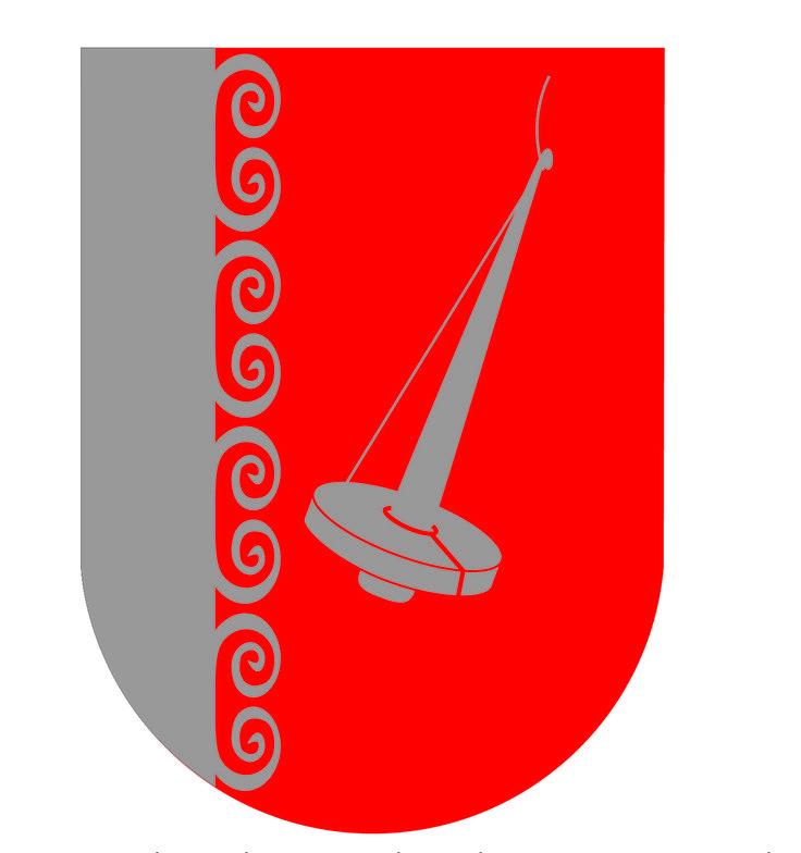 Tainan suvun vaakuna (KYAMK, graafisen suunnittelun opintojakson harjoitustyö, 2013), os. Taina