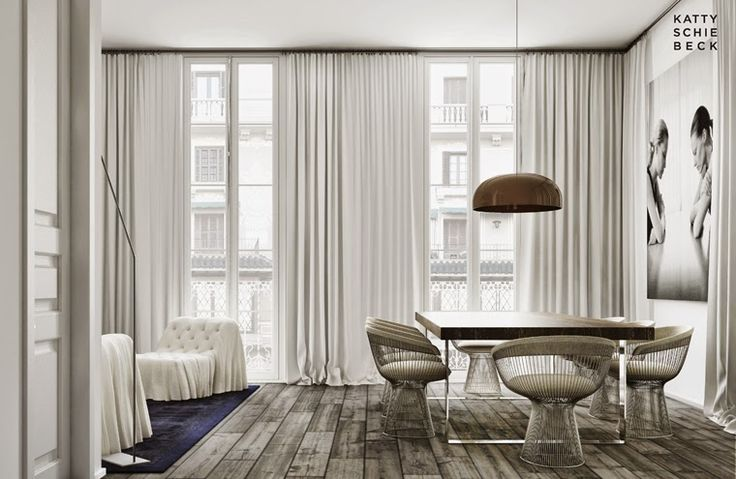 Somewhere I would like to live: New Project Eixample, Barcelona designed by Katty Schiebeck