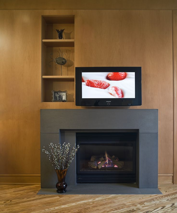 How To Install A Gas Fireplace Surround WoodWorking