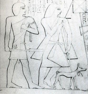 Altes Ägypten Priester Tägliches Leben