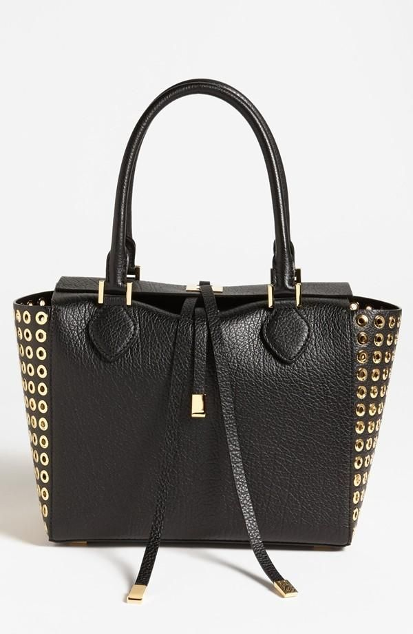 Studded Michael Kors tote. The Miranda! I want this for my birthday SO BADLY!