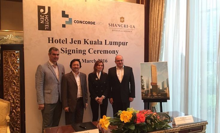 pening in 2019, Hotel Jen Kuala Lumpur is the second Hotel Jen project under development in Malaysia, following the signing of Hotel Jen Kota Kinabalu in Borneo in September 2015...