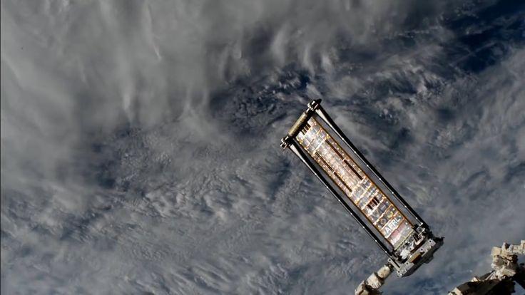 ❝ Ensayo fallido del panel solar espacial 'matasuegras' - #VÍDEO ❞ ↪ Vía: proZesa