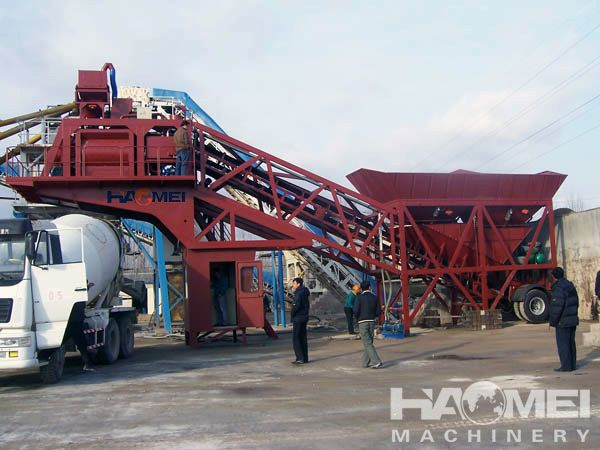 YHZS concrete mixing plant in Philippines, Paraguay, Russia, Malaysia, Singapore. Nigeria  Feel free to contact me by email: sales@haomei.biz or visit our website: www.haomeimachinery.com