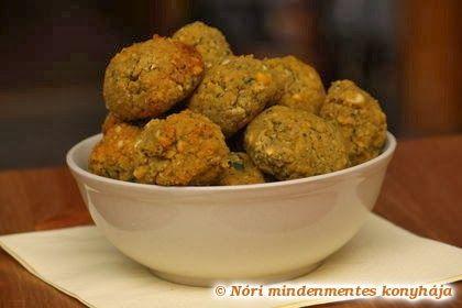 Nóri mindenmentes konyhája: Falafel