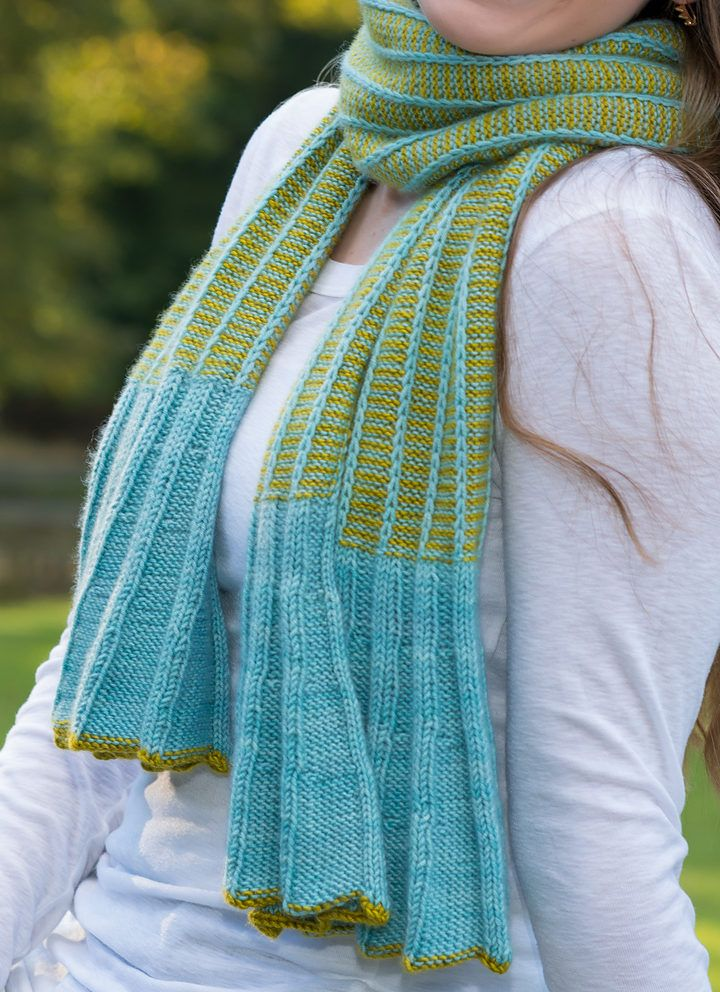 1483 best KnitScarves images on Pinterest | Free knitting ...