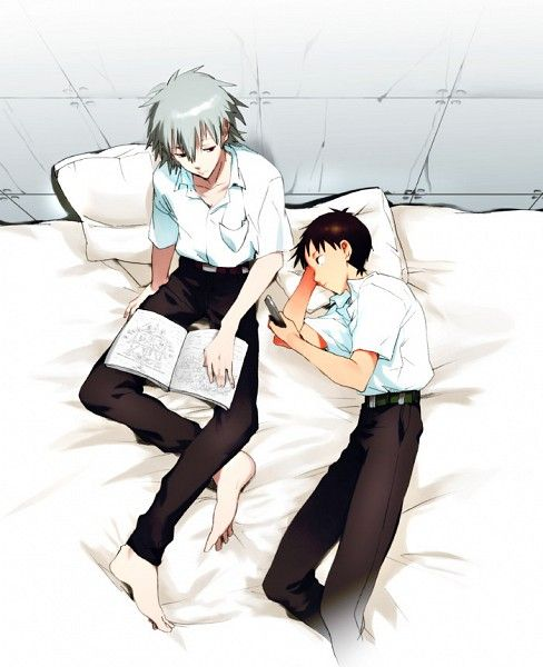 55 best shinji x kaworu images on Pinterest | Neon genesis ...