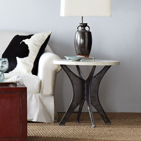 Wisteria - Furniture - Shop by Category - Accent Tables & Pedestals -  Industrial Arc Table - $329.00
