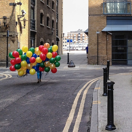 Balloons - Somehow romantic and nostalgic