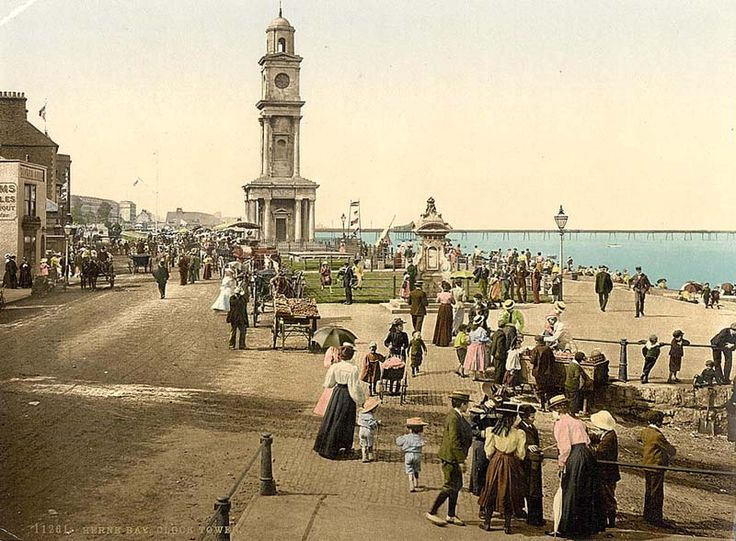 herne bay, uk, in 1913