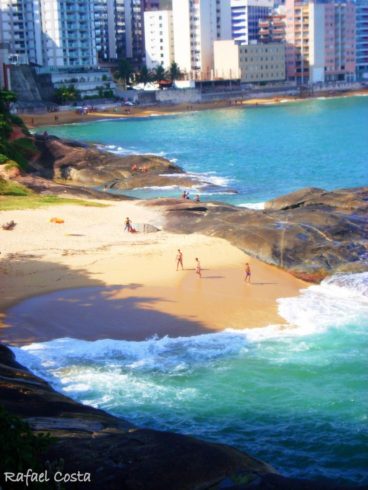 Praia Do Morro, Guarapari, Espírito Santo, Brazil - I'll be there next week!