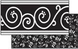"""Checkout the """"Black Decor Double-Sided Bulletin Board Border, Straight"""" product"""