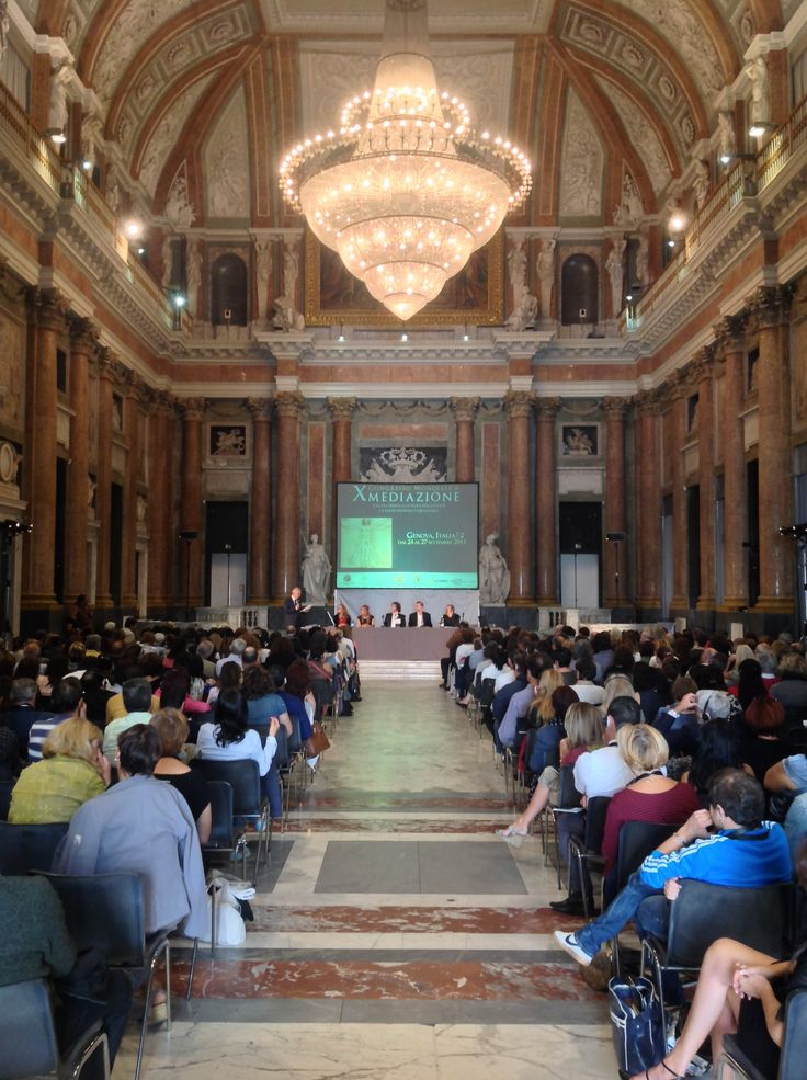 Salone del Maggior Consiglio, main room of the Palace. Here we host congresses, events and the most important festivals