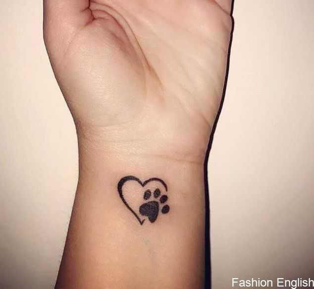 25 Best Dog Paw Print Tattoos On Wrist The Paws Dog