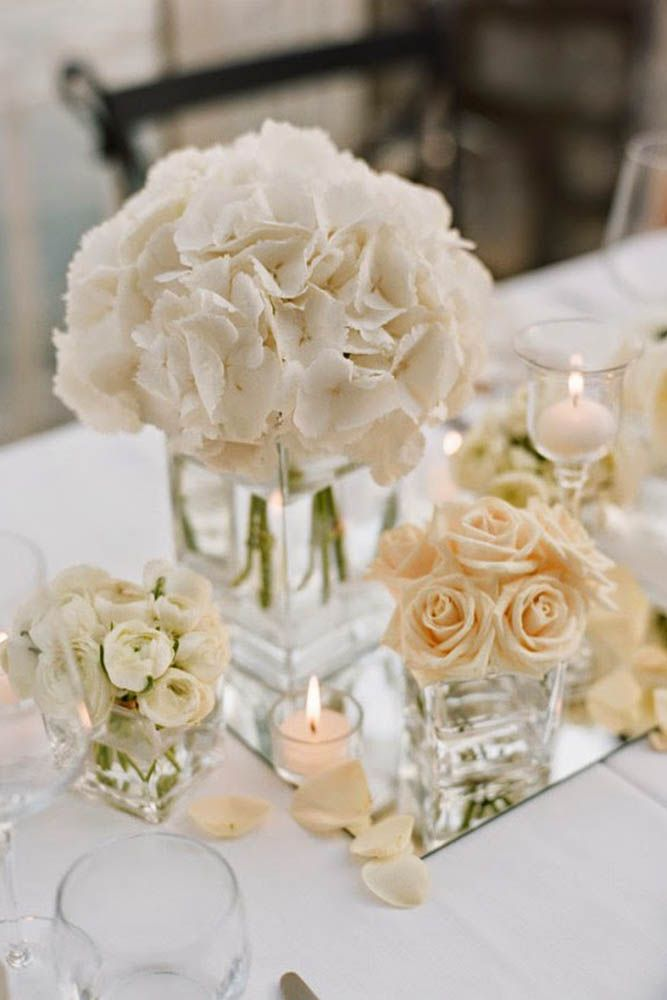 24 White Wedding Decoration Ideas ❤ White details will make your wedding like a fairytale! See more: http://www.weddingforward.com/white-wedding-decoration-ideas/ #wedding #bride #weddings
