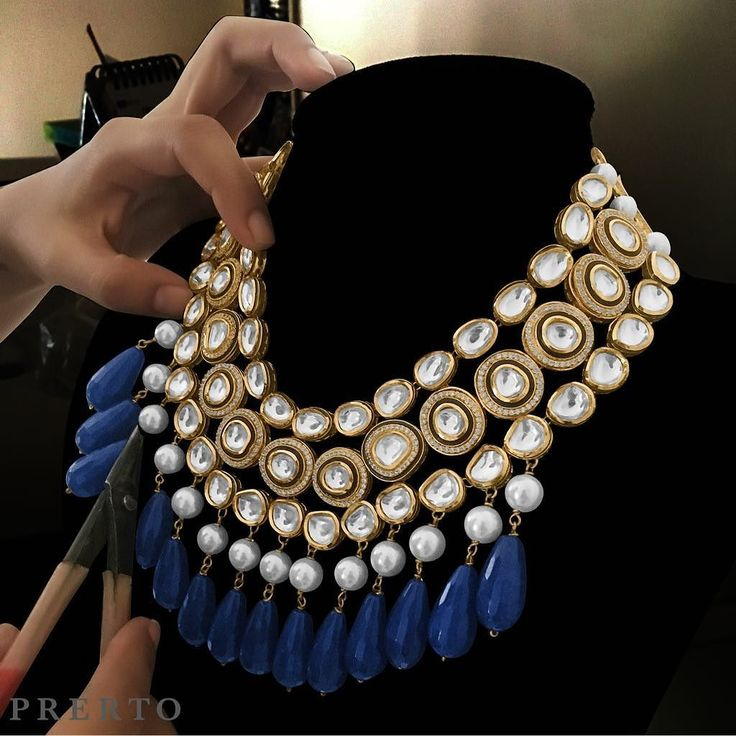 Master piece in process // Have you checked out our CRAZY range of Indian jewellery as yet? PS: Don't forget to check out our stories to see some new only on Instagram as yet items  Shop only at www.prerto.com