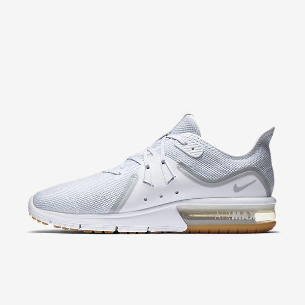 Nike Air Max Sequent 3 Herren Laufschuh – Weiß #lpu #sneaker