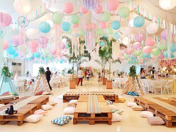 Coachella Music & Arts Festival Inspired Birthday Party on Kara's Party Ideas | KarasPartyIdeas.com (11)