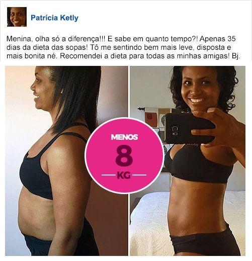 Dieta das Sopas  A Dieta das Sopas é um programa de emagrecimento utilizado por milhares de mulheres ao redor de todo mundo para perder peso de forma saudável, sem precisar de academias ou de fazer exercícios. As 35 receitas de sopas, seguidas de forma correta e adequada, ininterruptamente, podem reduzir entre 10 e 17 quilos o peso de qualquer mulher em apenas 35 dias.  #emagrecimento #comoemagrecerrapido #dietadasopa #dieta