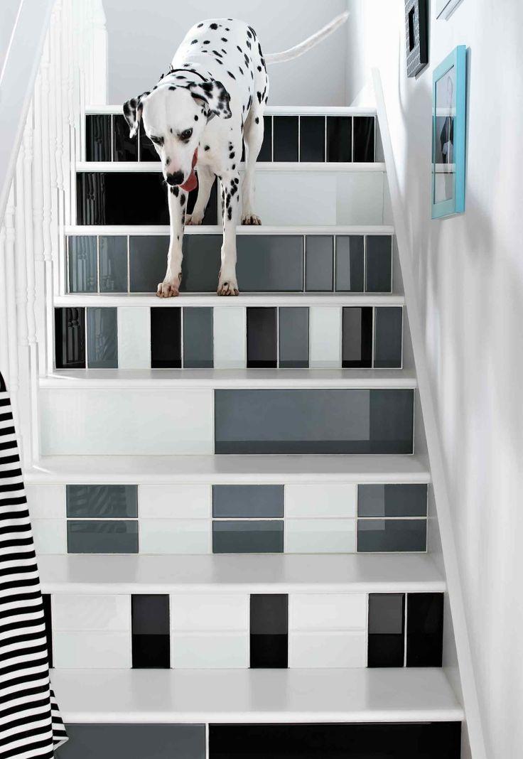Die besten 25+ schwarze Treppe Ideen auf Pinterest Treppe - wohnungseinrichtung schwarz wei