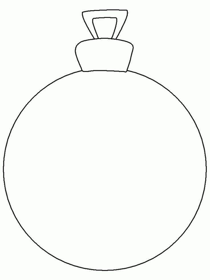 Christmas ornament- Esfera para imprimir