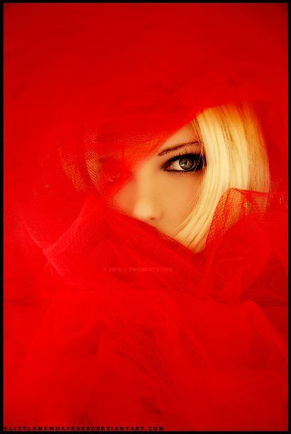 Red: Red Blondes, Red, Happy Color, Peekaboo, Red Veils, Peek A Boo, Beautiful Red, Red Hot, Eye