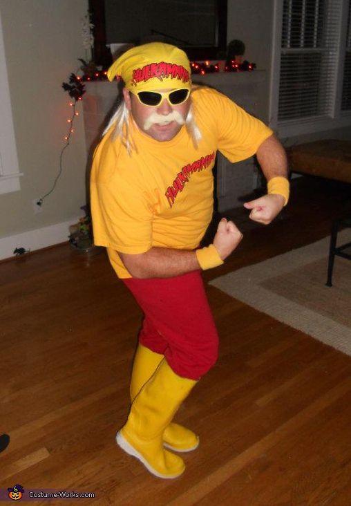 Hulk Hogan Halloween Costume Contest Via Costumeworks & Mens Hulk Hogan Costume - Meningrey