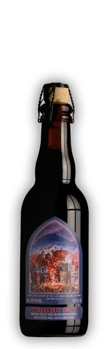 Track #10: Bat out of Hell is a barrel aged strong ale from The Lost Abbey in San Marcos, California.