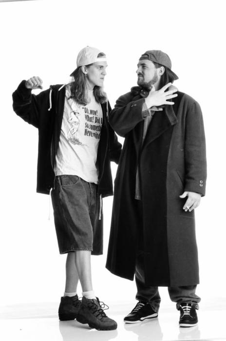 Jay & Silent Bob - :) (Hahaha, almost pinned them in 'fashion'...)